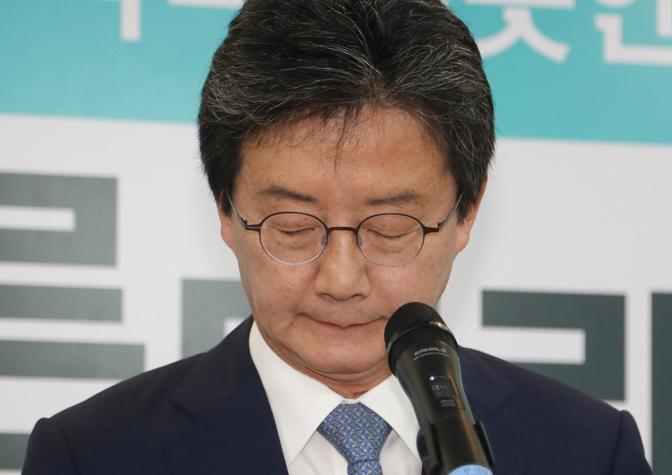 """유승민 바른미래당 대표 사퇴 """"모든 것을 내려놓고 다시 시작"""""""