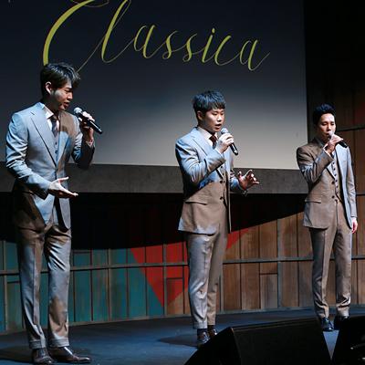 JTBC '팬텀싱어' 초대 우승팀 '포르테 디 콰트로'의 2집 쇼케이스 현장