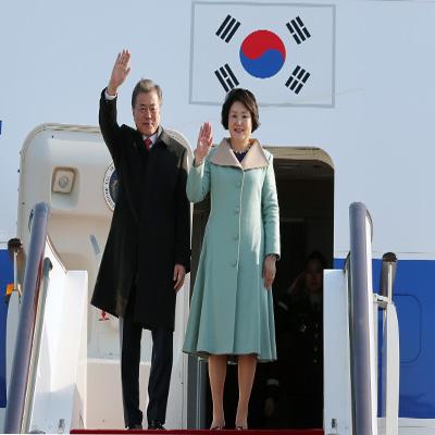 문 대통령, 취임 후 첫 중국 방문