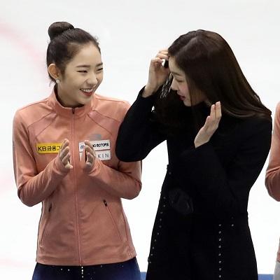 김연아 만난 최다빈 선수