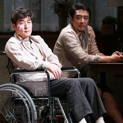 김상우-김상중, '미저리'로 연극 도전