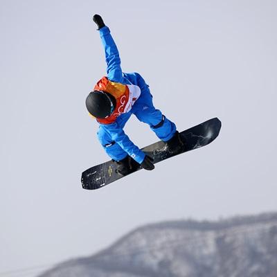 13일 강원도 평창군 휘닉스 스노 경기장에서 열린 2018 평창동계올림픽 스노보드 남자 하프파이프 예선에 스노보드 국가대표팀이 출전했다.