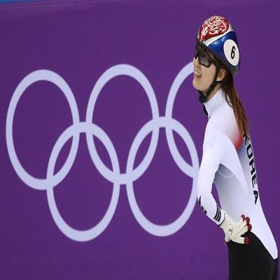 여자 쇼트트랙 대표팀의 최민정이 지난 13일 강릉 아이스아레나에서 진행된 2018 평창동계올림픽 쇼트트랙 여자 500m 결승에서 실격 처리됐다./연합뉴스