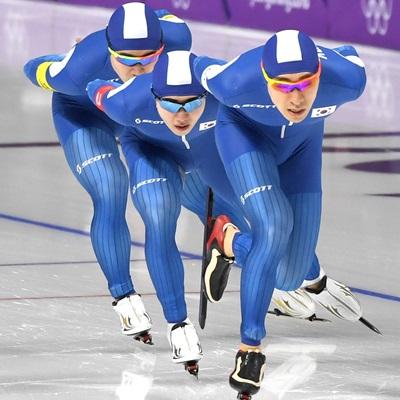 빙속 남자 팀추월, 값진 은메달
