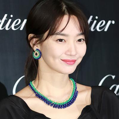 신민아, '러블리한 보조개 미소'
