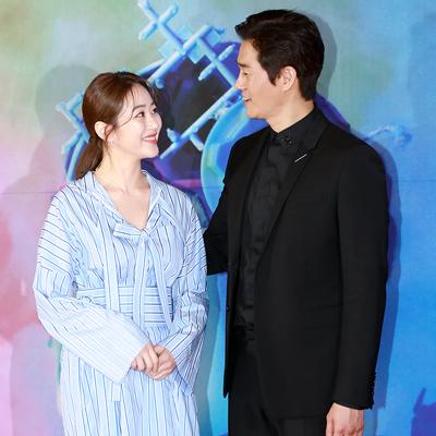 '꿀 떨어지는 부부' 김효진-유지태, '서울환경영화제' 참석