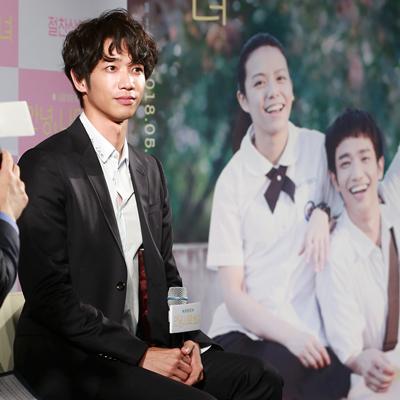 '대만 국민 남친' 류이호, '안녕, 나의 소녀' 내한 기자회견