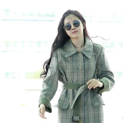 에이핑크(Apink) 손나은, '공항에서 이미 화보 완성!'