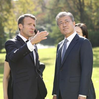 文 대통령 프랑스 국빈 방문