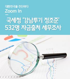 국세청 강남투기 정조준... 532명 자금출처 세무조사