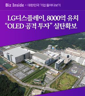 [LG디스플레이, 신디케이트론 계약] 중국發 LCD사업 고전 속 OLED로 전환 실탄 확보