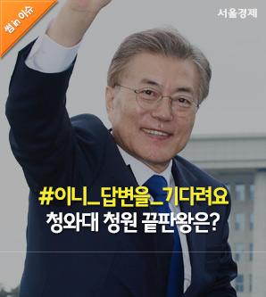 [썸in이슈] 이니의 답변을 기다려요(?)…청와대 청원 끝판왕은?