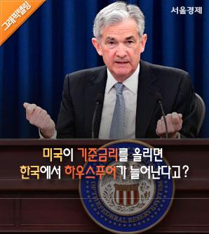 [그래픽텔링]미국이 기준금리를 올렸는데 왜 한국에서 하우스푸어가 늘지?