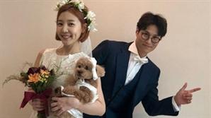 "[SE★PIC] 신다은♥임성빈, 결혼 2주년 자축 ""고생이 많다 남편님"""