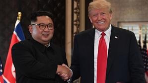 북미 전향적 비핵화 약속했나