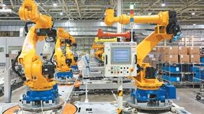 '산업용 로봇' 만리장성 넘는 현대重