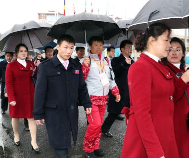 北패럴림픽 선수·대표단 24명, 내일 경의선 육로로 귀환