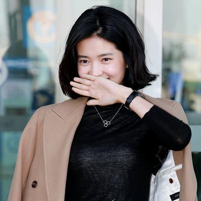 배우 김태리, '출장 떠나는 애기씨~'