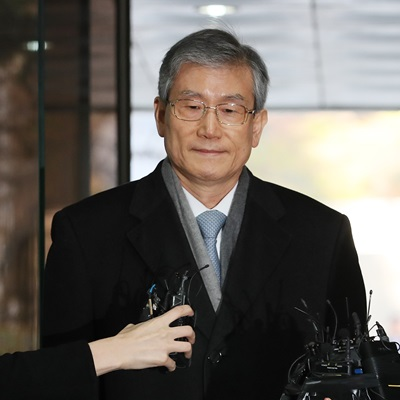 '사법농단' 고영한 전 대법관 영장심사