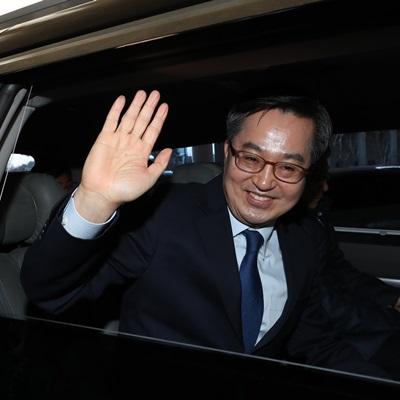 퇴임하는 김동연 부총리