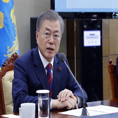 2019년 첫 청와대 수석 보좌관 회의