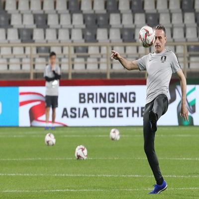 2019 AFC 아시안컵 국가대표팀 훈련