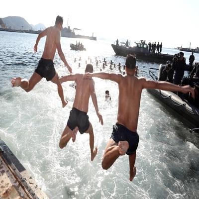 해군 SSU 혹한기 훈련