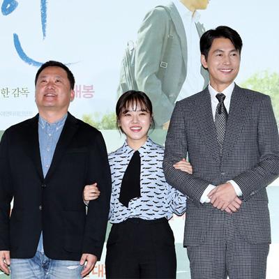 정우성-김향기-이한 감독, 영화 '증인' 언론 시사회