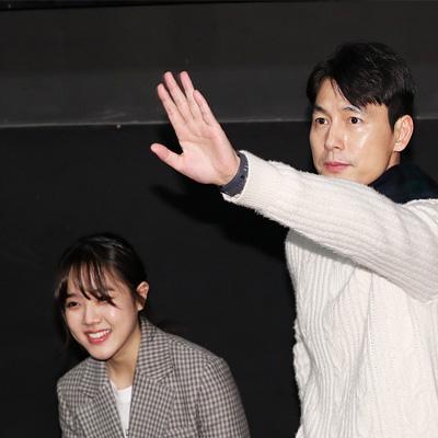 정우성-김향기-이규형-이한 감독, 영화 '증인' 무대인사
