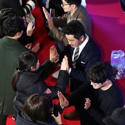 류승룡-진선규-이동휘-공명, 영화 '극한직업' 흥행 감사 행사