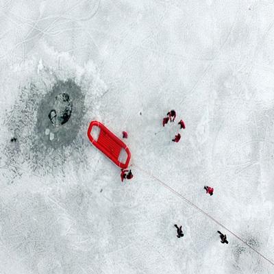 춘천소방서 해빙기 수난구조 훈련