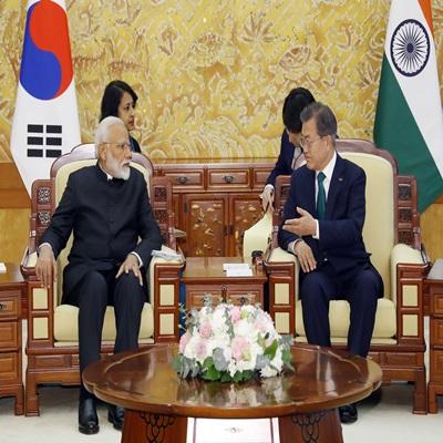 한국·인도 정상회담
