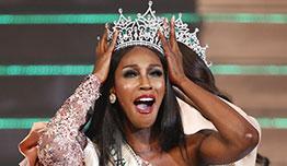 [포토] 흑인여성, 트랜스젠더 미인대회 첫 왕관을 쓰다