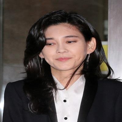 '프로포폴 투약 의혹' 이부진, 주주총회 참석