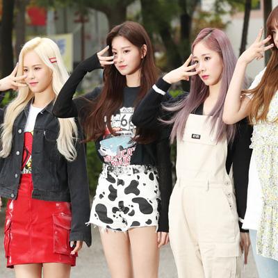 방탄소년단-다이아-아이즈원-모모랜드, KBS2 '뮤직뱅크' 리허설