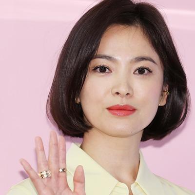 송혜교, 아이웨어 브랜드 '베디베로(VEDI VERO)' 포토월