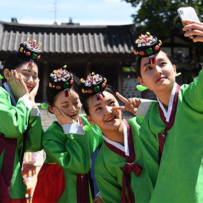 성년의 날, 전통성년례 재현 행사