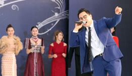 김준수-더원-박원순 시장-씽텅 랍피셋판 대사,  '2019 아세안 위크' 개막식