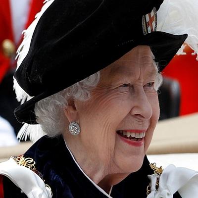 가터 훈장 수여 행사에 참석한 英 왕실 사람들