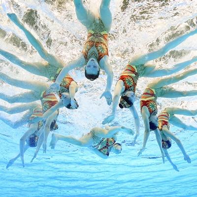 바다로 '풍덩'...광주세계수영선수권 대회 현장