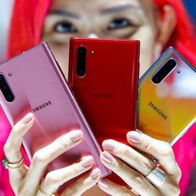 삼성전자가 차세대 주력 스마트폰 갤럭시노트10을 미국 뉴욕 브루클린에 위치한 바클레이스 센터에서 7일(현지시각) 공개했다.