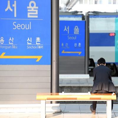 철도노조 '사흘간 파업'...서울역 풍경