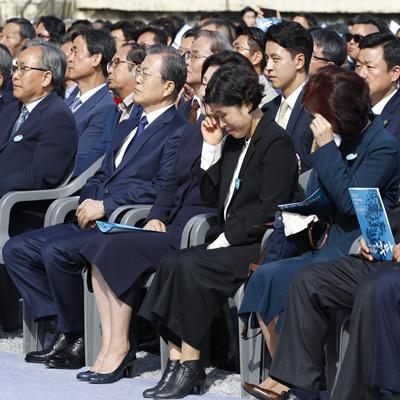 첫 정부주관 '부마민주항쟁 기념식' 현장