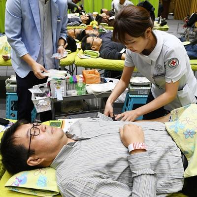 2019 하반기 사랑의 헌혈 행사