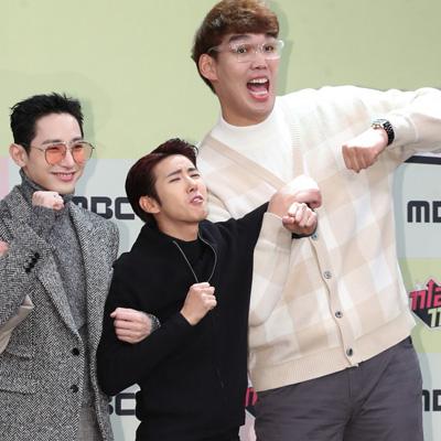 은지원-장성규-인교진-광희-성규-박명수-이용진,  MBC 예능 `끼리끼리` 제작발표회
