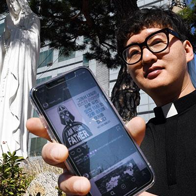 '인스타 라이브 미사'로 핫한 박민재 미카엘 신부