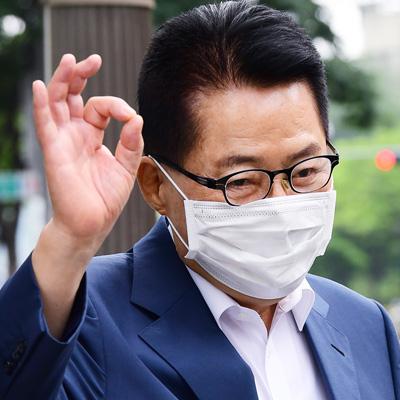 박지원 국정원장 후보자, '만사 오케이'