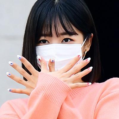 에이핑크 김남주, 상큼한 출근길 인사