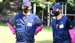정애리-션-이영표 '2020 서울연탄은행 연탄나눔 재개식' 참석