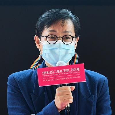 김조광수-김승환-염문경-정휘-이홍내  '서울국제프라이드영화제'(SIPFF) 기자간담회